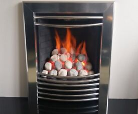 Focal Point Aura 3.75 Kw Contemporary Inset Gas Fire (Chrome)