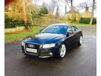 2008 58 Audi A5 3.0 TDI Quattro Sport Black 3 Door Coupe **FULLY LOADED** PANORAMIC ROOF** S Line **
