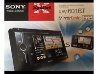 Sony XAV 601BT Audio Unit