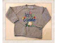 """Sweater """"let's cuddle"""" size 3years"""