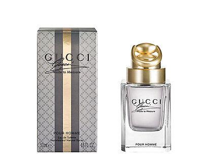 Gucci Made To Measure Pour Homme 1.6 / 1.7oz 50ml Eau de Toilette Spray For