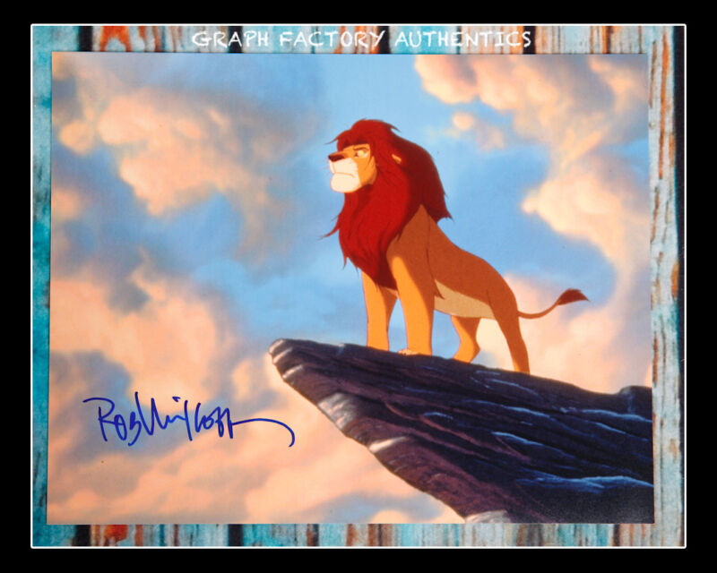 **GFA The Lion King *ROB MINKOFF* Signed 11x14 Photo Poster MH3 PROOF COA**