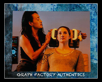 Gfa Divergent Movie  Shailene Woodley  Signed 11X14 Photo Mh1 Coa