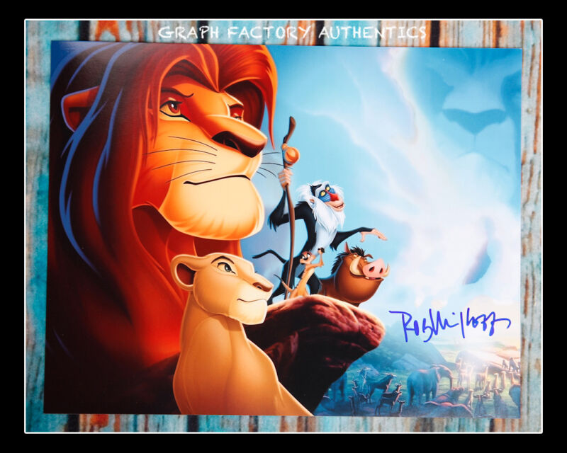**GFA The Lion King *ROB MINKOFF* Signed 11x14 Photo Poster MH1 PROOF COA**