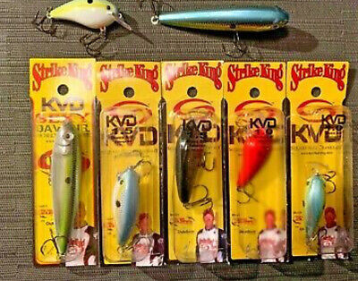 Strike King Lures Shim-e-stick Soft Bait Lure 5 Body Length Baby Bass per 8 for sale online