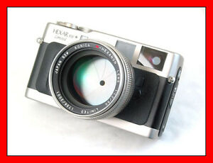 Konica-Hexar-RF-Limited-50mm-f-1-2-Hexanon-Set-MINT
