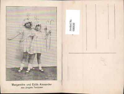 600039,Tanzen Margarethe u. Edith Alexander Tanzpaar - Musik Paare Kostüme
