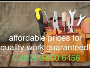 Handyman | Appliance Repair and Installation Services in