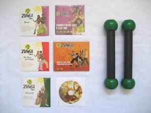 Zumba weights and DVD's Laverton Wyndham Area Preview