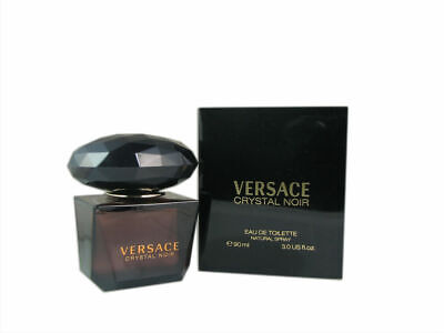 Versace Crystal Noir for Women 3.0 oz 90 ml Eau de Toilette Spray