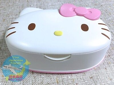 Wet Tissue Case Only Container  No Contents Sanrio Hello Kitty Kawaii F S Japan
