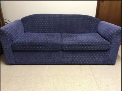 Near new 3 seater sofa bed from Fantastic Furniture. FANTASTIC FURNITURE COUCH FOR SALE   OPENS INTO BED   Sofas