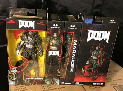 "McFarlane Toys  Bethesda  DOOM MARAUDER  7"" Action figure  Doom Eternal MIP!"