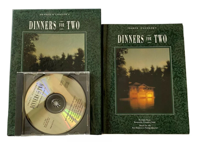 Romantic Cookbook Country Inn Recipes Dinners for Two Music CD Box Set Gift Deal