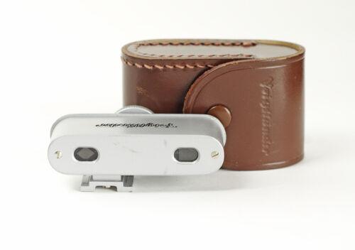 Voigtlander Rangefinder Shoe Mount Accessory Finder  93/184 No.0059 with Case