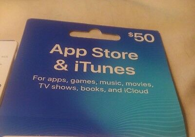 50 App Store   Itunes Gift Card