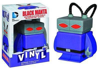 DC Universe Vinyl magnetic Interchangeable figure Black Manta