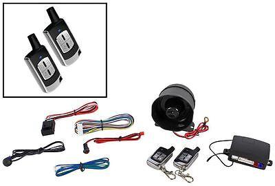 Ultrastart U450XR-Pro Car Alarm System w/2 Solid Metal Remotes with Xtreme Range