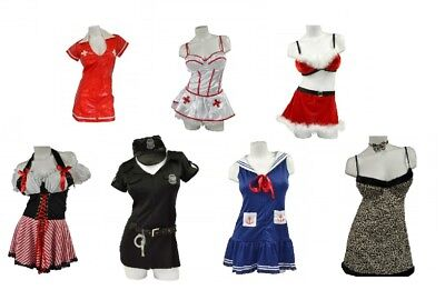 Wholesale Bulk Halloween Costumes Women's Sexy Fashion DressUp Outfits 24 Units