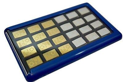 Element Card Gold Bullion Case for Valcambi Combibars Silver Platinum