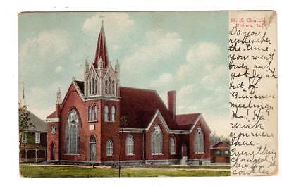 Usado, IA - ELDORA IOWA 1908 Postcard METHODIST CHURCH ALLISON BOYS SCHOOL SPANKINGS segunda mano  Embacar hacia Argentina