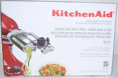 NEW KitchenAid Stand Mixer Attachment KSM1APC Slicer Shredder Fresh Prep