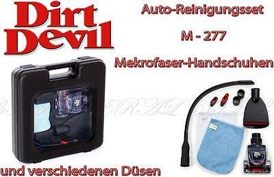 Dirt Devil M277 Autopflegeset Koffer Tierhaar Turbobürste XXL Fugendüse Tuch 11