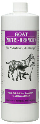Nutri-drench Goat Sheep Nutrition Supplement 16 Oz 1 Pint Free Shipping