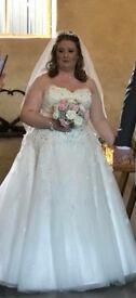 Donna Lee 'Chelsea' ivory wedding dress 16/18/20