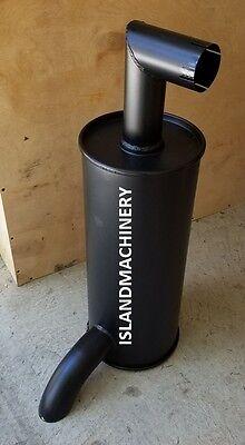 4191361 Hitachi Excavator Muffler. Ex200 Ex200-1