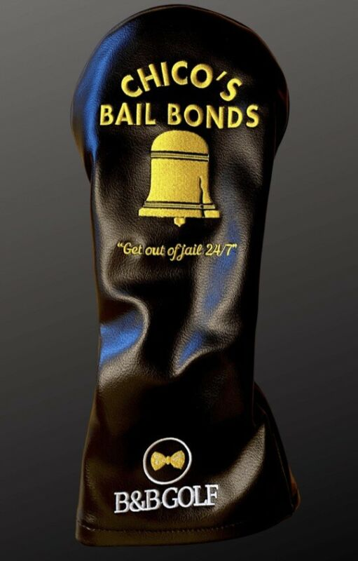 B&B Golf Driver Headcover - Chico's Bail Bonds