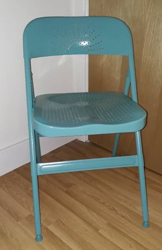 Astounding Ikea Turquoise Folding Chair In Bedminster Bristol Gumtree Lamtechconsult Wood Chair Design Ideas Lamtechconsultcom