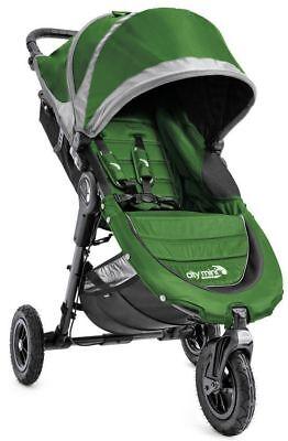 Baby Jogger City Mini GT Compact All Terrain Stroller Evergreen / Gray NEW