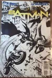 DC COMICS BATMAN NEW 52 #2 SKETCH VARIANT