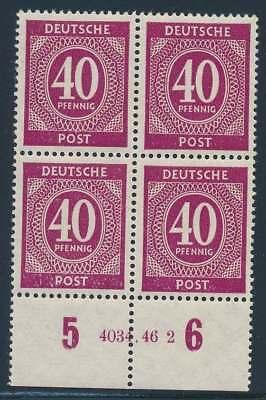 All. Besetzung Nr. 929 HAN postfrisch / **, Viererblock HAN 4034.46 2 (40950)