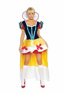 SEXY Halloween COSTUME Womens SNOW WHITE QUEEN Adult COSPLAY naughty ROMA