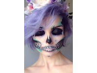 Sexy and Spooky - HALLOWEEN SPECIAL FX- Face Painting - Face Painter - Make Up Artist London