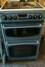 Beko 50cm Cooker & 3 month warranty