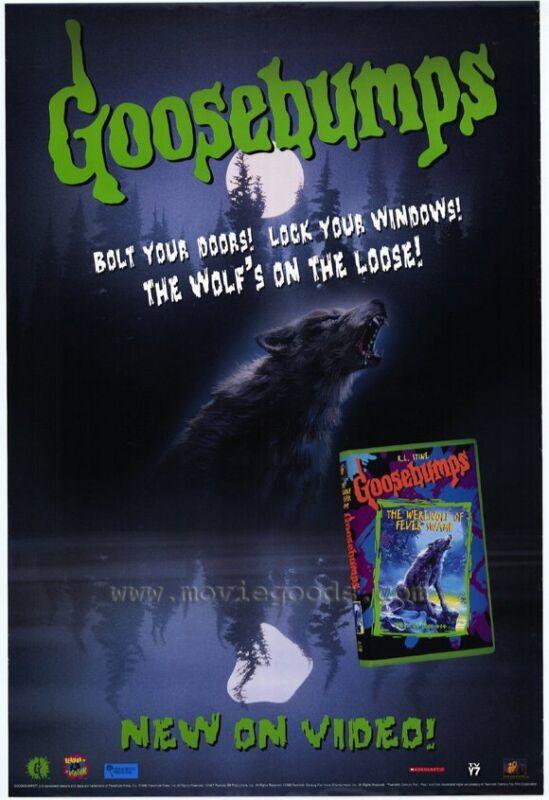 GOOSEBUMPS Movie POSTER 27x40 B