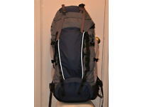 Blacks Alpine 55L Expedition quality Rucksack Backpack Excellent condition.