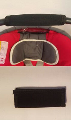 Handle Bar Grip Cushion Cover for Graco SnugRide Car Seats Baby Newborn Infant (Car Seat Covers For Graco Infant Car Seats)