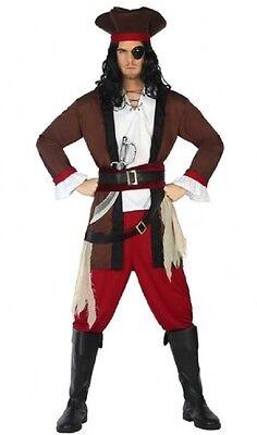 Kostüm Herren Pirat der Karibik XL Kostüm Erwachsene Film neu billig