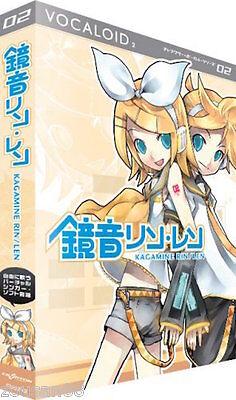 VOCALOID 2 KAGAMINE RIN LEN act2 Crypton Vocal Windows Software Japan NEW