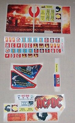 Stern AC/DC LE Pinball Machine Playfield Decal Set 802-5000-C7 NOS Free Shipping