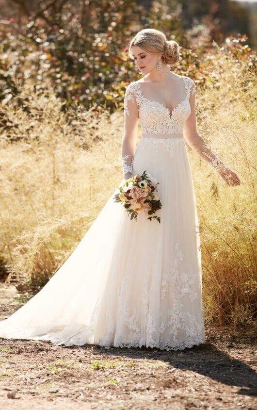 Essense of Australia Wedding dress wedding gown bridalwear D2038 ...