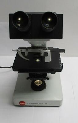 Ernst Leitz Wetzlar Gmbh Type 020-435.037 Laborlux D Binocular Microscope