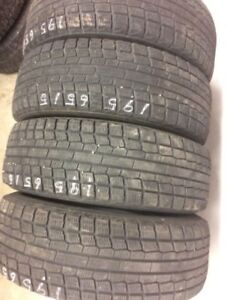 4 Yokohama winter tires:195/65R15