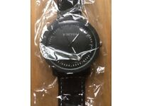 Brand New men's watch black