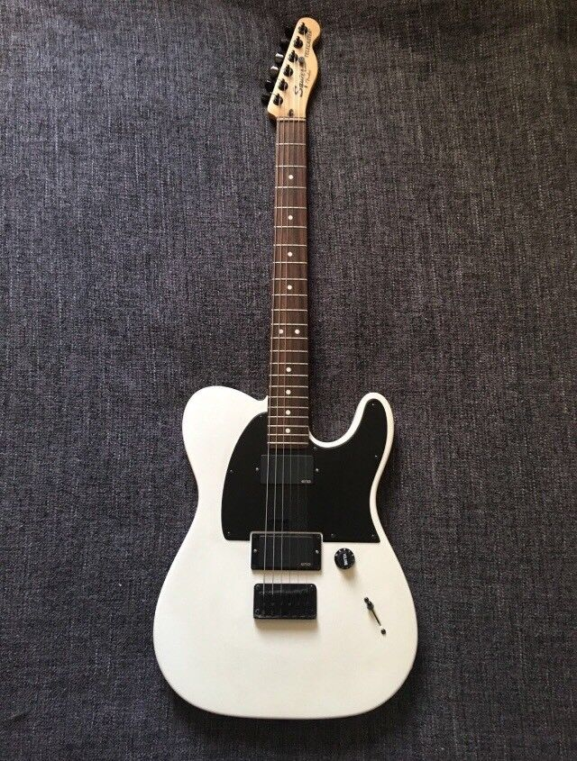 Squire 'Jim Root' Telecaster in Matte White   in Wolverhampton, West  Midlands   Gumtree