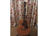 Epiphone EJ-200/N Acoustic Guitar